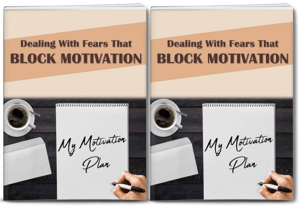 fears that block motivation plr