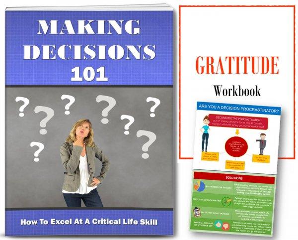 making decisions gratitude plr