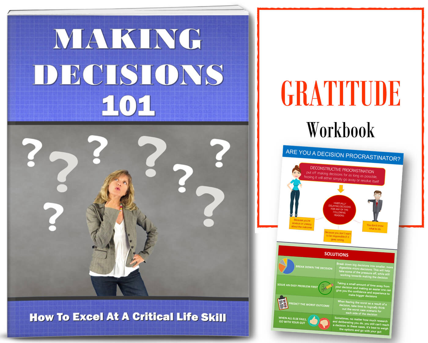 making decisions gratitude plr