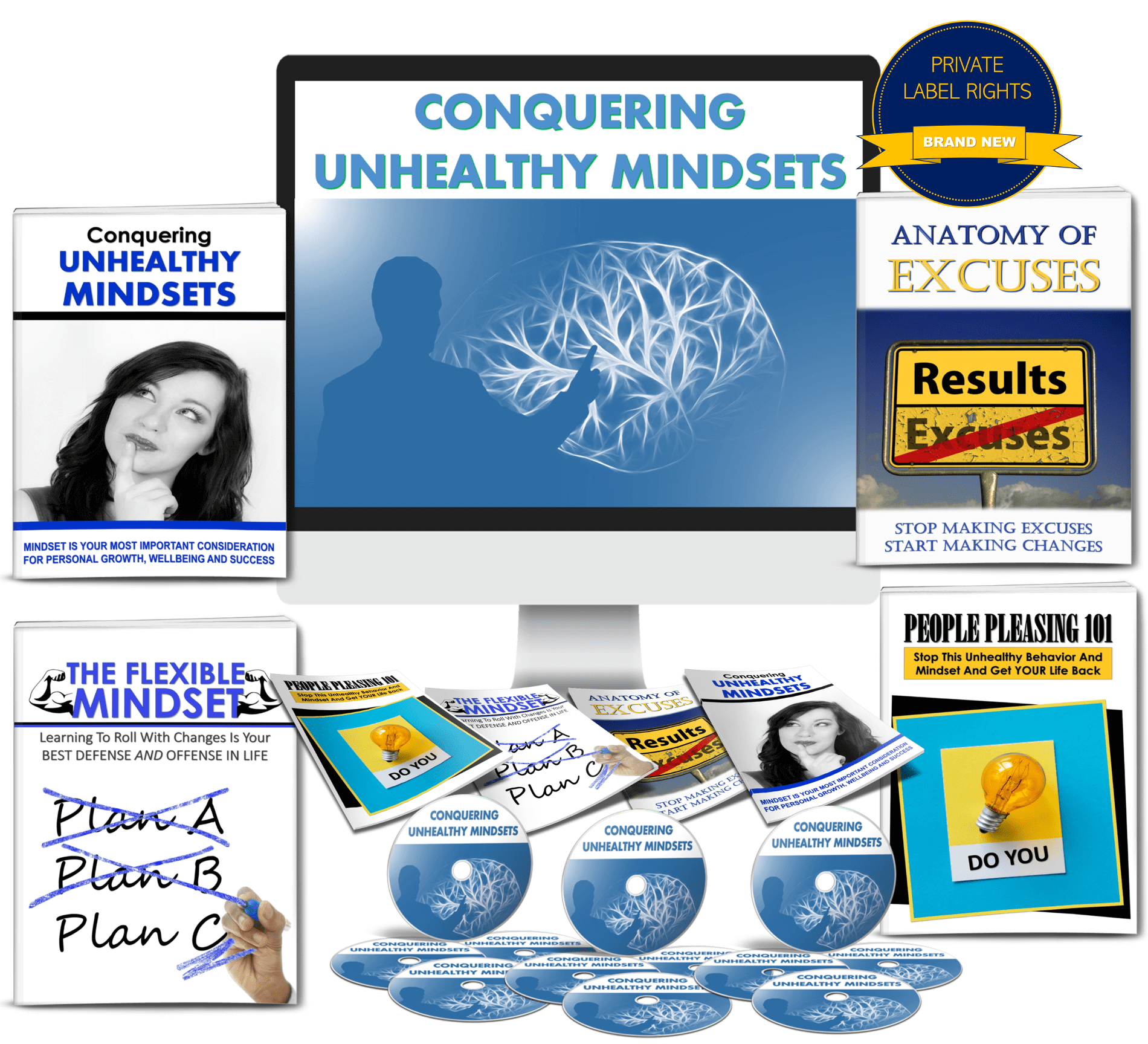 Conquer Unhealthy Mindsets PLR