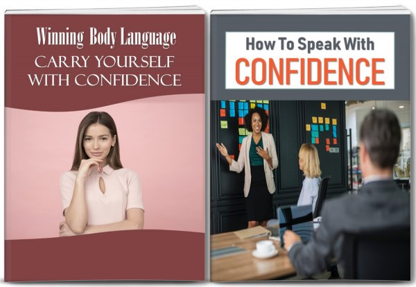 Confidence Body Language/Speak With Confidence PLR