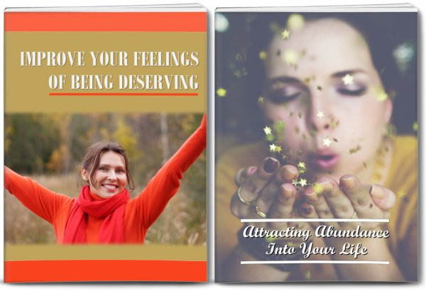 abundance and feeling deserving PLR