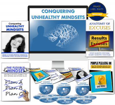 Conquering Unhealthy Mindsets PLR