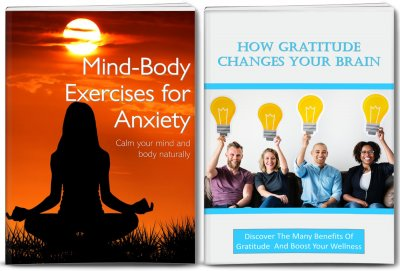 anxiety and gratitude content with PLR rights