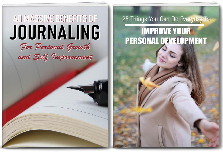 journaling and personal development plr