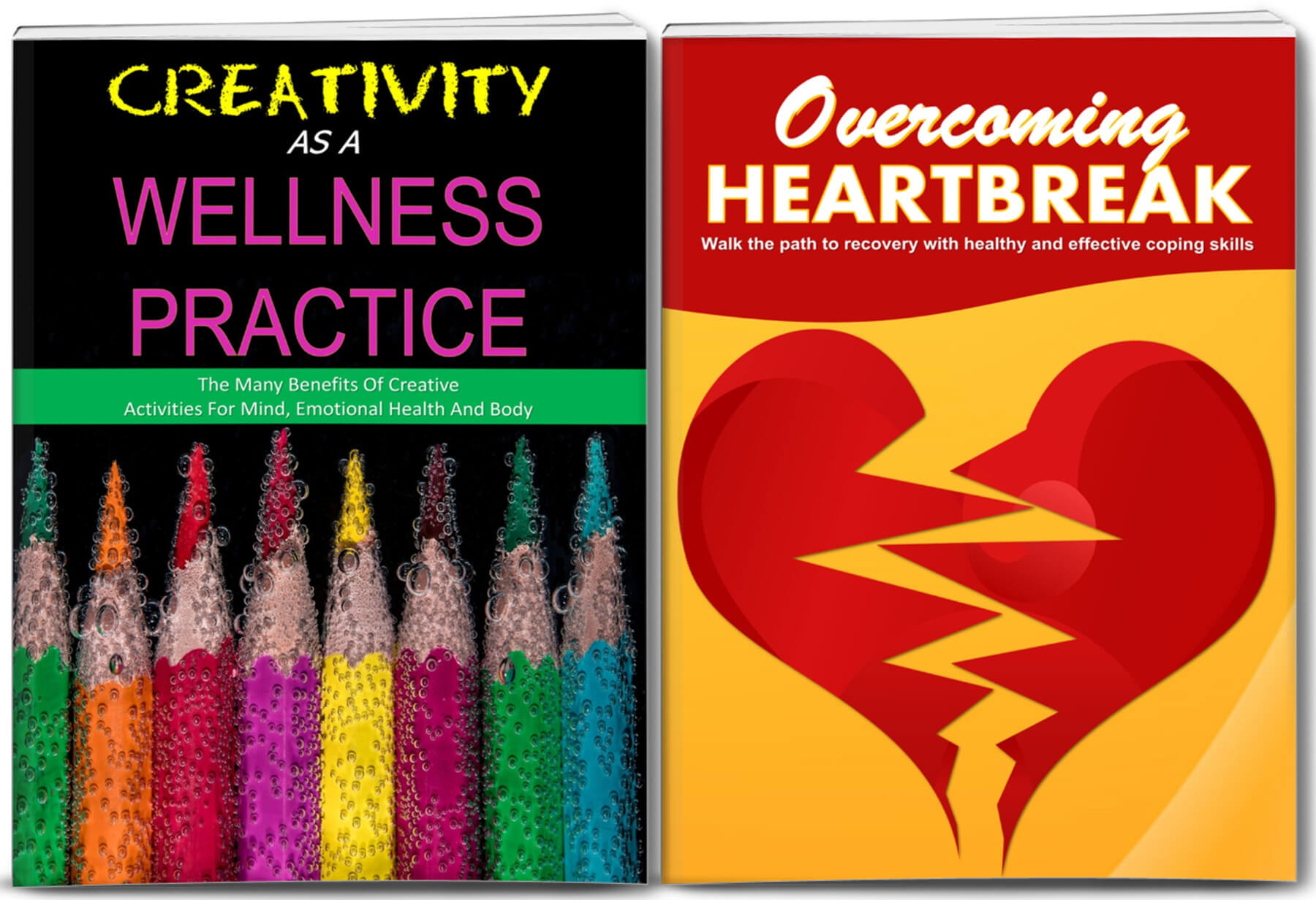 Creativity as a Wellness and overcoming Heartbreak content plr,