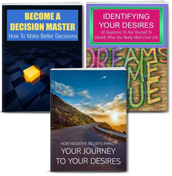Identifying Desires And Make Better Decisions Content With PLR Rights