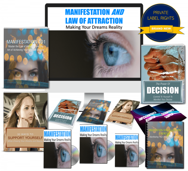 Manifestation/Law Of Attraction PLR