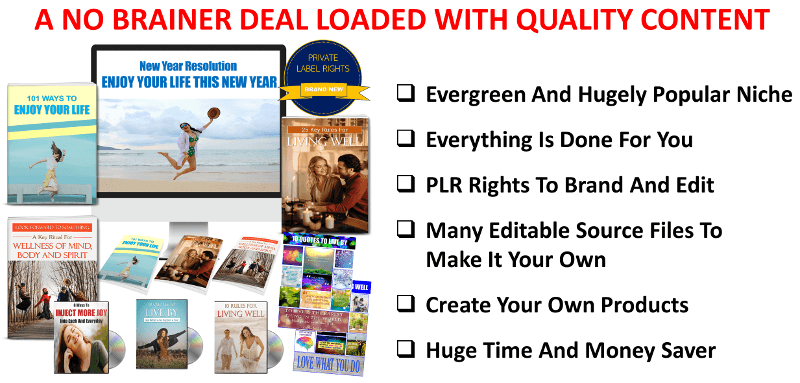 Enjoy Your Life Content With PLR Rights