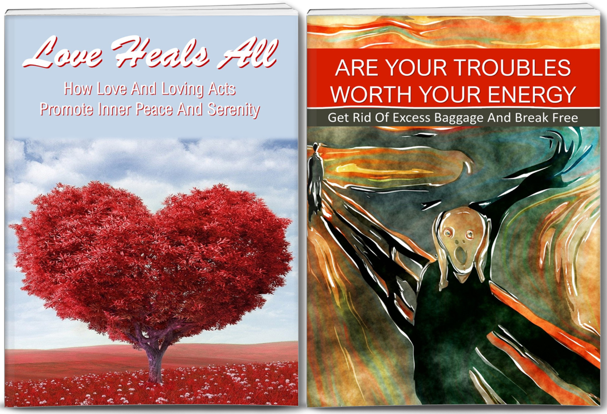 Overcome Troubles, Love For Inner Peace Content with PLR Rights