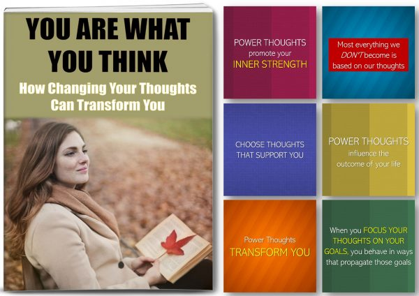 The Power Of Thoughts For Wellness and Success PLR
