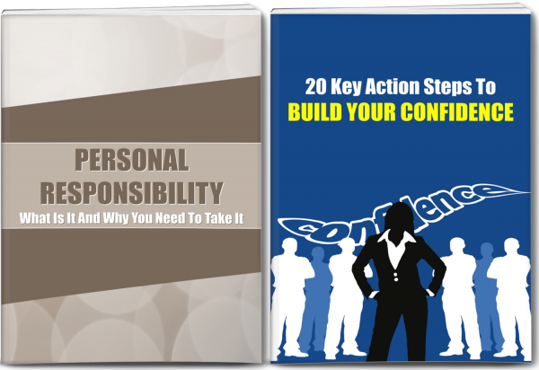 Build Confidence and Take Personal Responsibility Content Pack with PLR