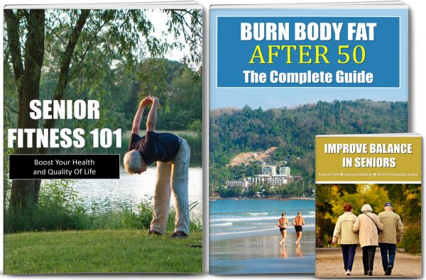 Senior Fitness and Burn Fat After 50 Giant Content Pack PLR Rights