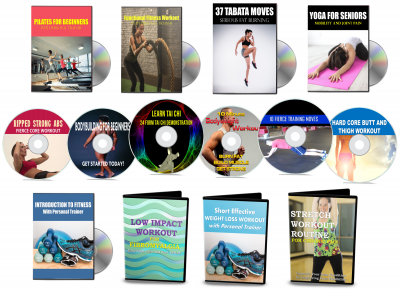 23 Fitness and Workout Demonstration Videos with PLR Rights