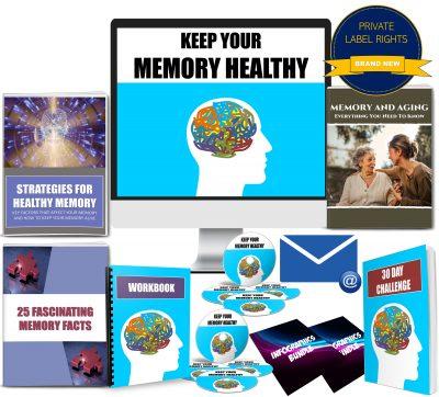 Keep Your Memory Healthy PLR