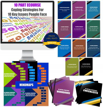 10 Part Ecourse: Coping Strategies For 10 Key Issues People Face PLR