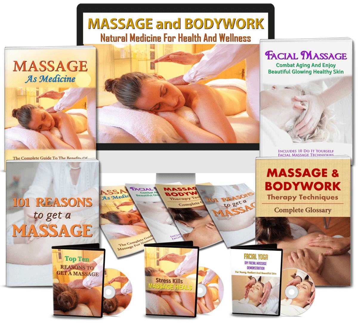 Massage and Bodywork PLR