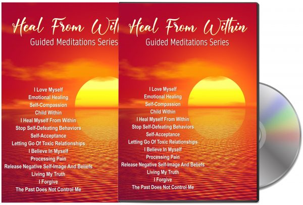 14 Heal From Within Guided Meditation Audios PLR