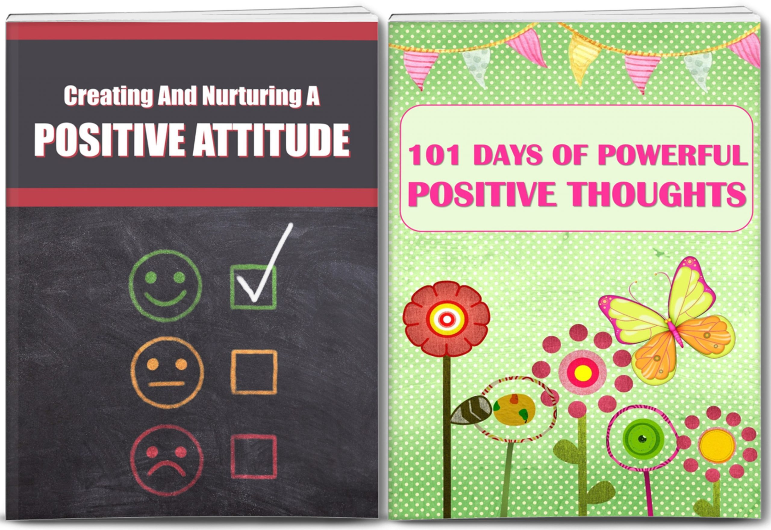 Positive Thinking: Developing A Positive Attitude Giant PLR