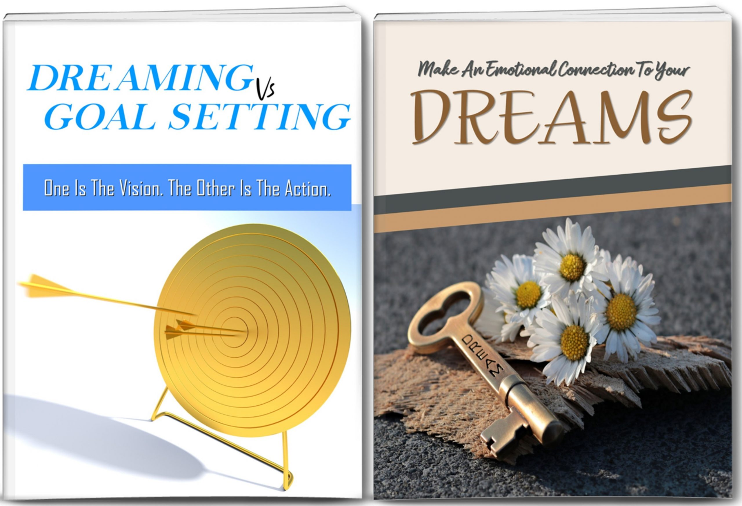 Make An Emotional Connection To Your Dreams Giant Content Pack - Reports, Articles, Graphics And More All With Full PLR Rights