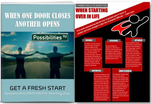 Make A Fresh Start PLR