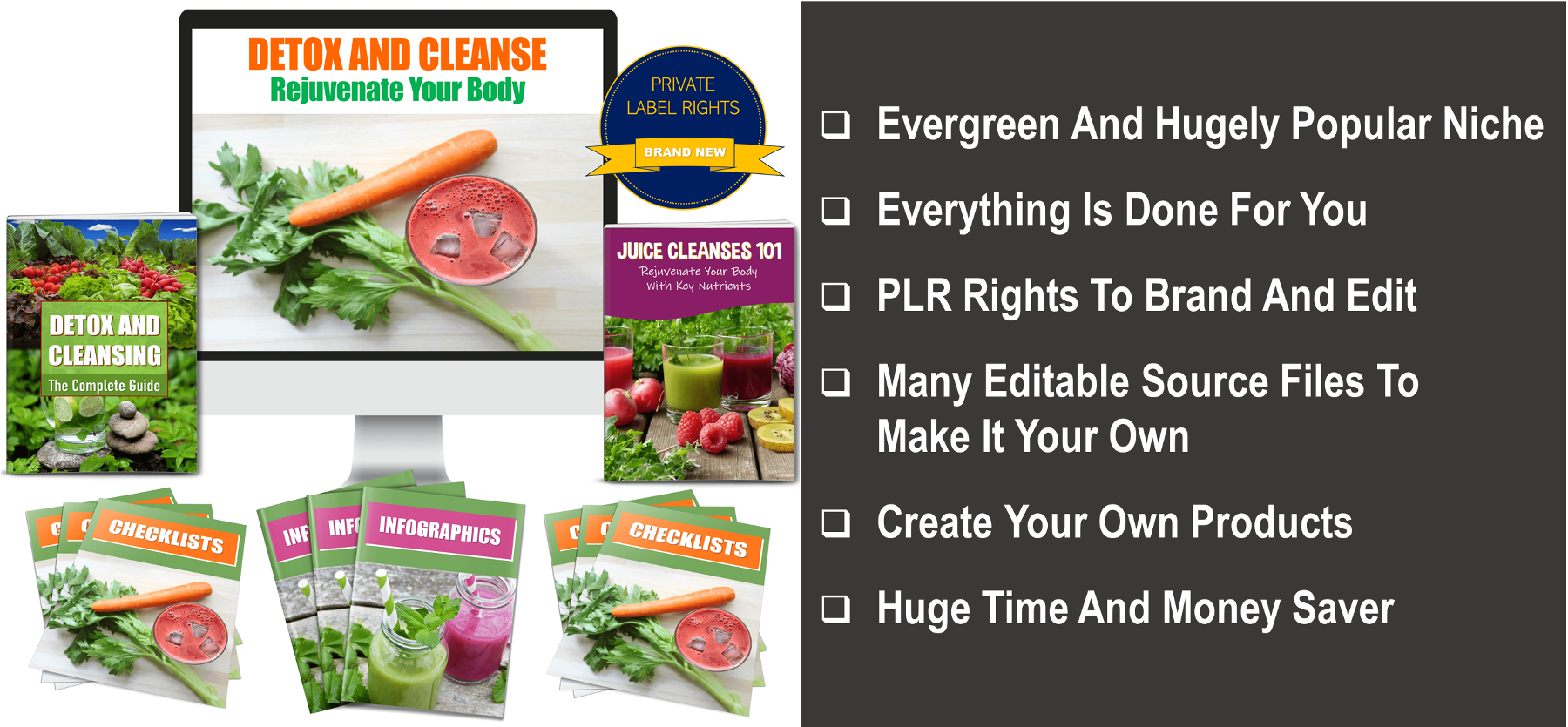 Detox And Cleanse Your Body PLR