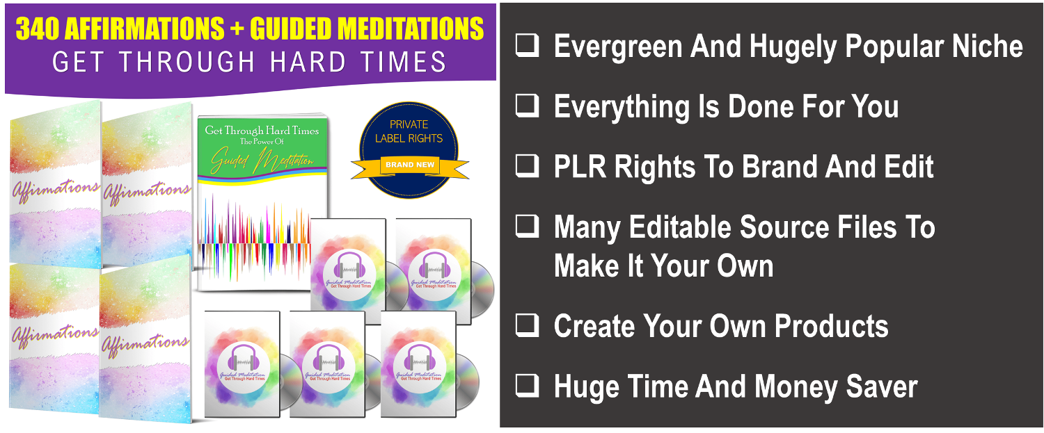 Handle Hard Times Affirmations And Guided Meditations