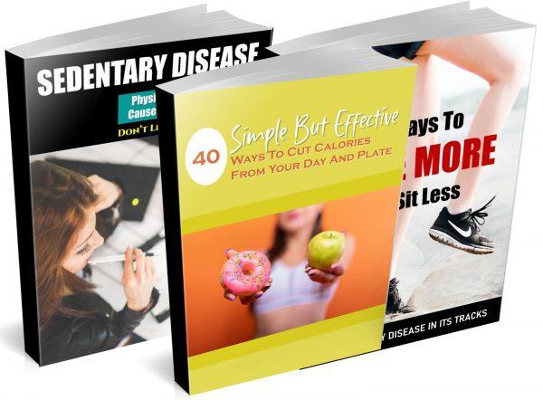 Overcome Sedentary Disease PLR