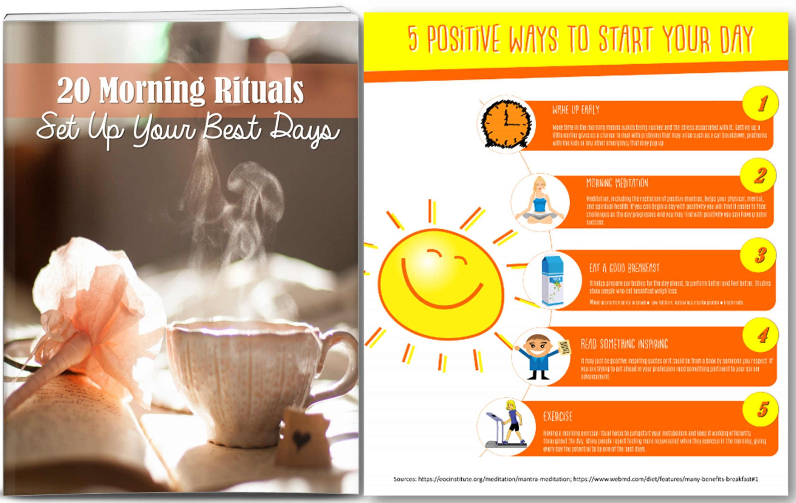 Morning Rituals Content Private Label Rights