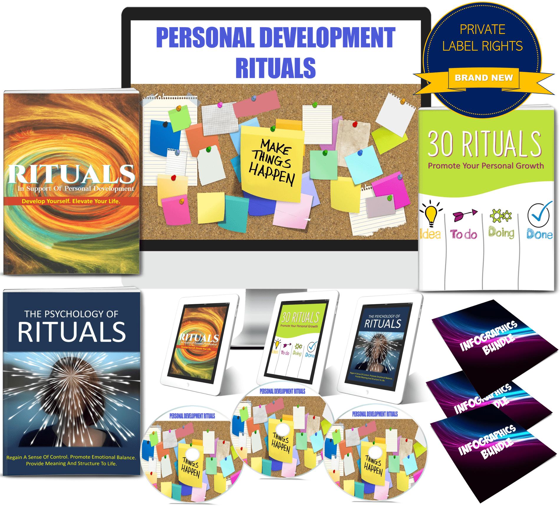rituals for personal development PLR