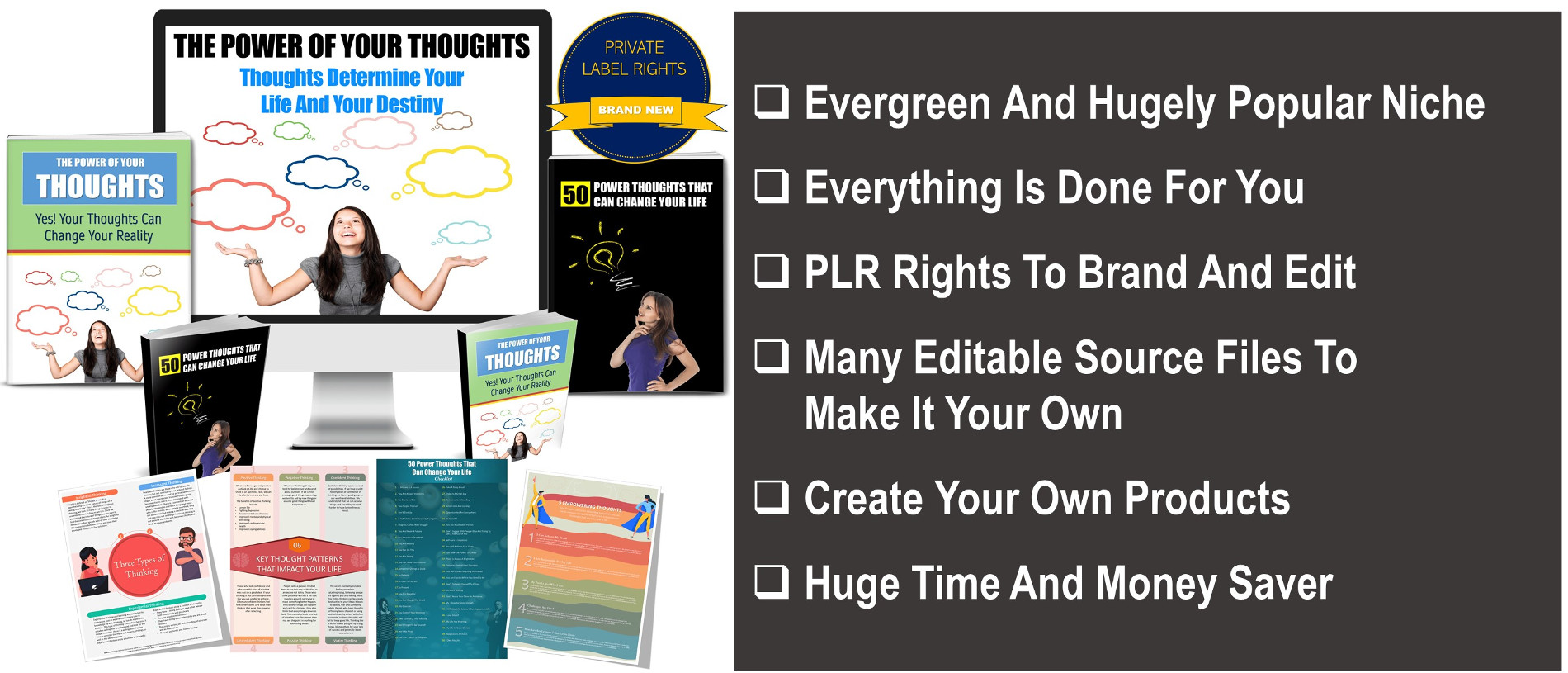 Power Of Thoughts PLR
