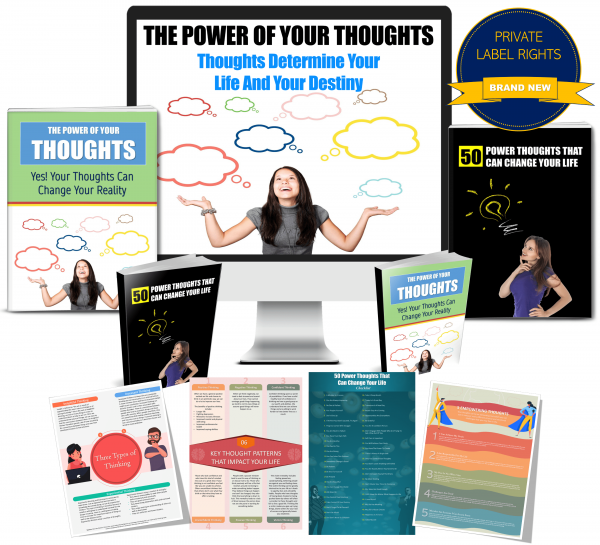 Power Of Your Thoughts PLR