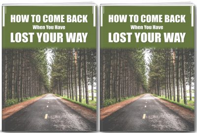 Come Back When You Have Lost Your Way PLR