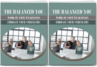 Embrace Strengths-Work On Weaknesses Report and 10 Articles Private Label Rights