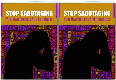 Stop Self Sabotage Report and 14 Articles PLR